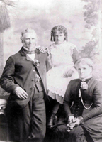 Great Great Grandparents george and Mary Hitchman (nee Foley) with daughter Ctherine Hitchman