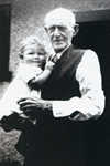 James  with Great grandfather Stanley Beauchamp
