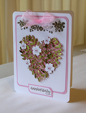 Card designed by Phillips unsing Stampin Up products