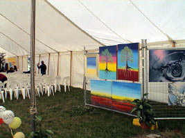 National Gospel happening art Exhibition held in Canberra in 2005