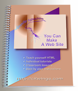 You Can Make A Web Site by J. Phillips