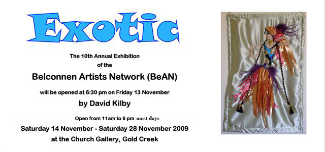 BeAN Annual Art Exhibition Invitation