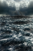God hurled a great storm by Jennifer Phillips