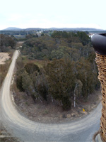 Balloon ride over Canberra by Jennifer Phillips
